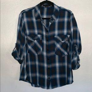 Sanctuary Boyfriend Flannel Shirt.